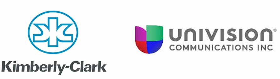 Industry-leading companies: Kimberly-Clark, Univision