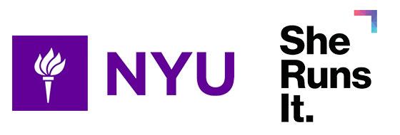 Speaking engagements at NYU, She Runs It